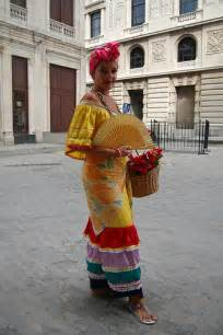 woman in traditional cuban costume robseye76 flickr