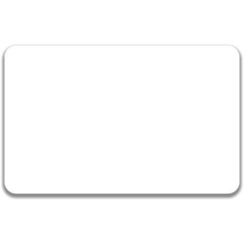and white card template blank identification card template www imgkid the