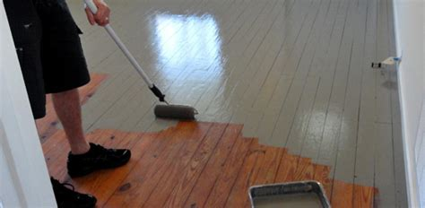 painting a floor how to paint wood floors today s homeowner