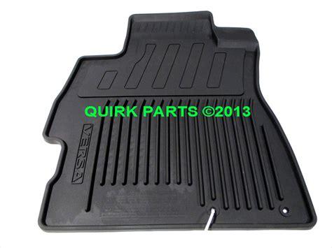 2013 2014 nissan versa all weather floor mats brand new