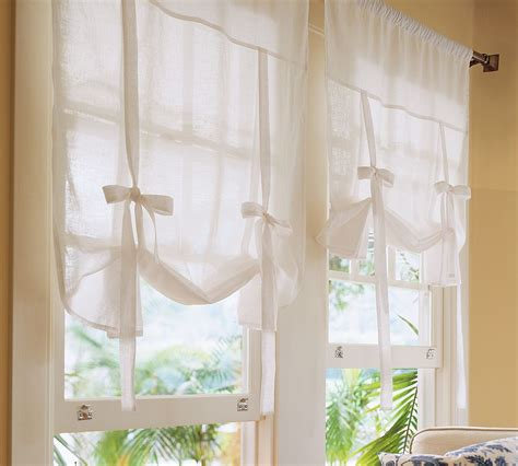 how to make tie up curtains tie up shades for windows myideasbedroom com