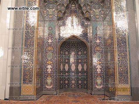 masjid mihrab design mosques mihrab erfan international tile company