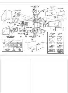 Chamberlin Garage Door Opener Parts Rutrackerabout