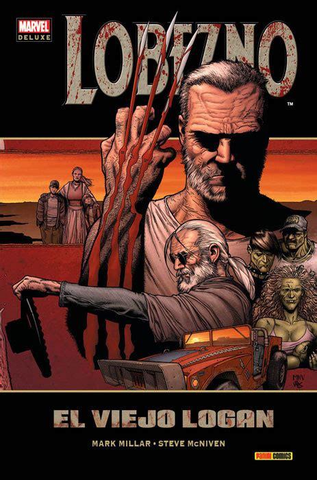 libro wolverine old man logan marvel deluxe lobezno el viejo logan zona negativa