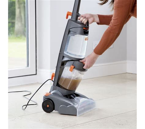 carpet and rug cleaner buy vax w86 dp b dual power upright carpet cleaner grey orange free delivery currys