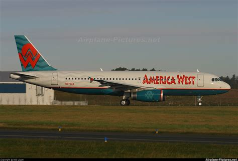 n673aw america west airlines airbus a320 at prestwick photo id 110814 airplane pictures net