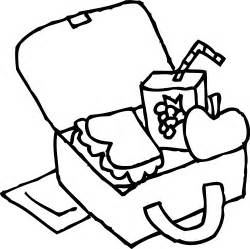 School Lunchbox Coloring Page  Free Clip Art sketch template