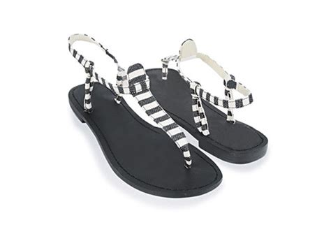 black and white flat shoes style29 flat out summer sandals