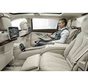 An Optional Executive Rear Seat Package PLUS Gives The Occupants
