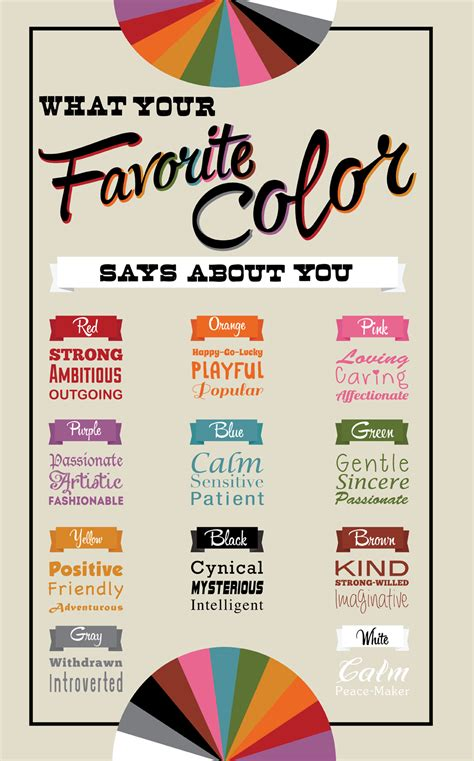 what your favourite colour says about you what your favorite color says about you live playfully