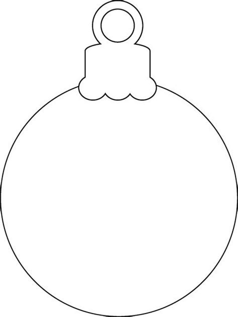 Printable Christmas Ornaments Templates Invitation Template Templates For Felt Ornaments