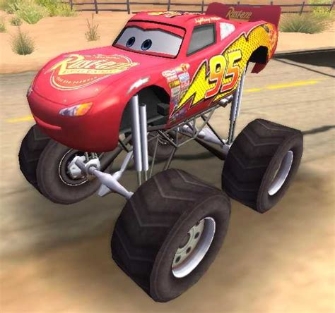 lightning mcqueen monster truck videos made for game lightning mcqueen monster truck monster