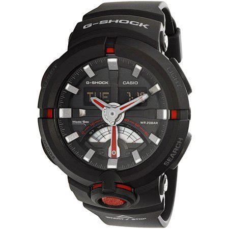 Casio G Shock Ga500 Brown casio s g shock ga500 1a4 black rubber quartz sport
