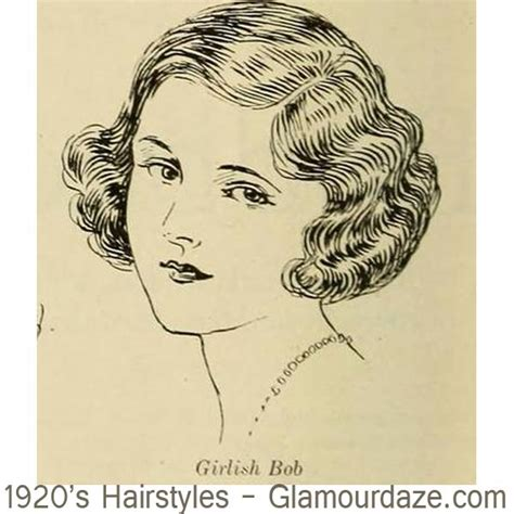 drawing of bob hair 1920s hairstyles 12 classic bob cuts glamourdaze