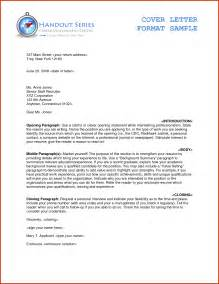 Proper Cover Letter Format by Letter Format Example Formal Letter Format Business Letter Format With Enclosures Exles
