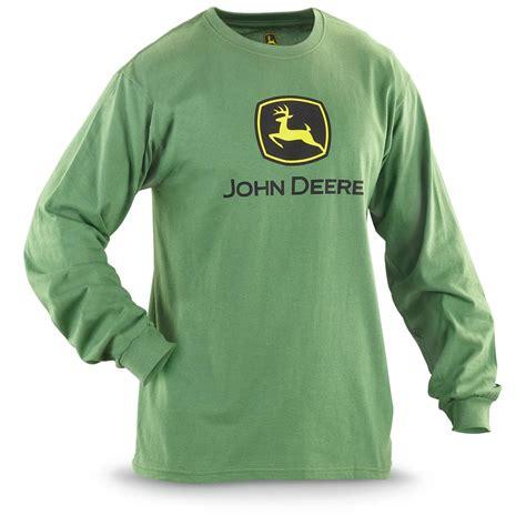 deere 174 sleeved logo t shirt 228215 t