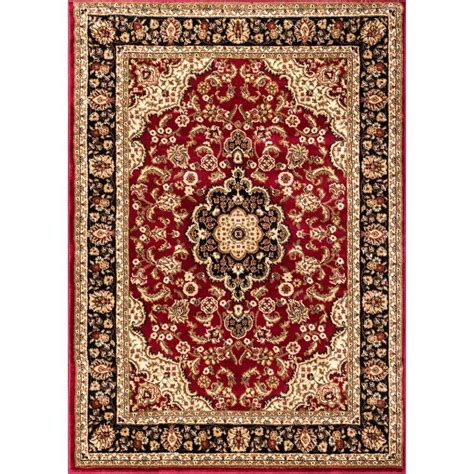 Medallion Area Rug Ottomanson Traditional Medallion 7 Ft 10 In X 9 Ft 10 In Area Rug Ptr1610