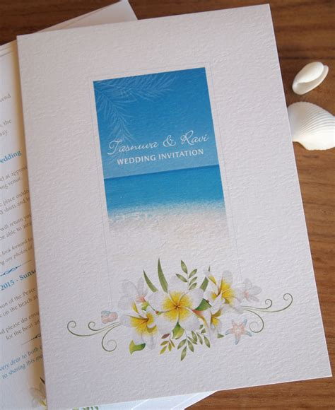 Tropical Wedding Invitations by Tropical Wedding Invitations Wedding In Thailand