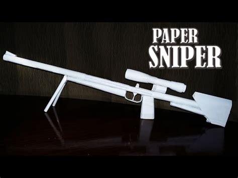 Make A Paper Gun - how to make a paper glock 18 pistol pink gun that shoots