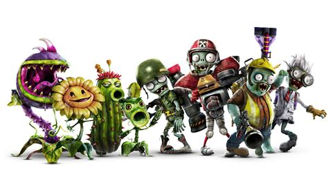 plants vs zombies garden warfare 2 alle charaktere und