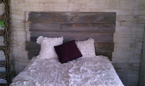 barn siding headboard barnwood headboard eclectic bedroom st louis by