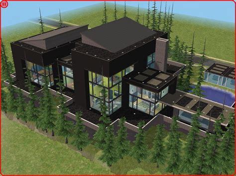 Villa Grundriss 2 Stöckig by Sims 2 Modern Villa By Ramborocky On Deviantart