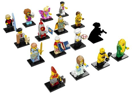 Lego Minifigures Series 17 Gourmet Chef Minifigure Seri 3 Pastry Pi lego collectible minifigures series 17 71018 official images the brick fan the brick fan