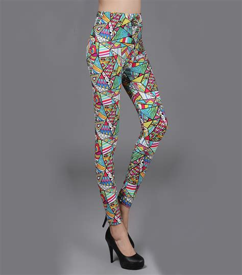 Pattern Rendered Earth Leggings Price | rendering pattern leggings wholesale china leggings