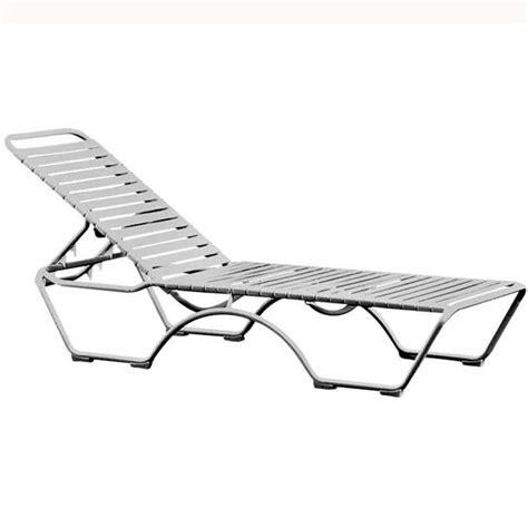 strap chaise lounge chairs tropitone 8032n kahana strap chaise lounge discount