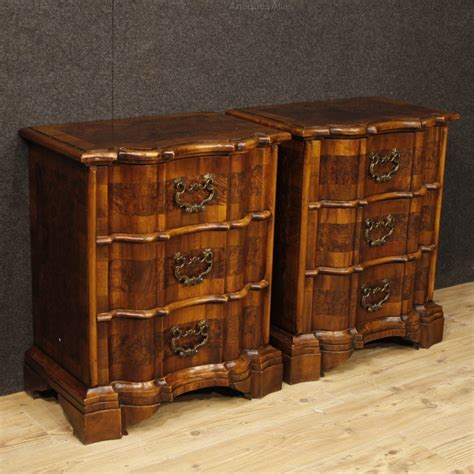 antiques atlas pair of venetian bedside tables chests in
