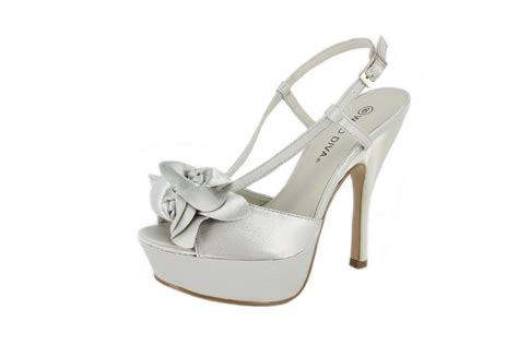 silver satin high heels new silver satin open toe high heels sandals shoes