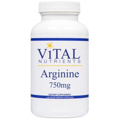 Arginine And Detox by Vital Nutrients Arginine Amino Acid Formula