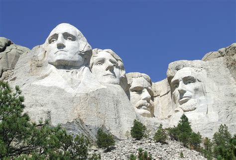 sculpture now world of independent senate candidate larry pressler claims mount rushmore presidents were independents