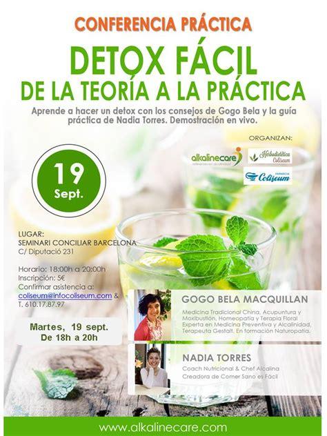 Detox That Accepts Ebt Or La Care by Conferencia Pr 225 Ctica De 3 Horas Detox En Vivo De La