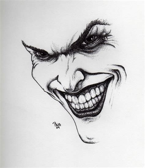 Drawing Joker by Joker Drawing By Graywolfcg On Deviantart