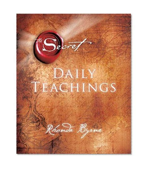 libro the secret daily teachings the secret daily teachings rhonda byrne the secret book