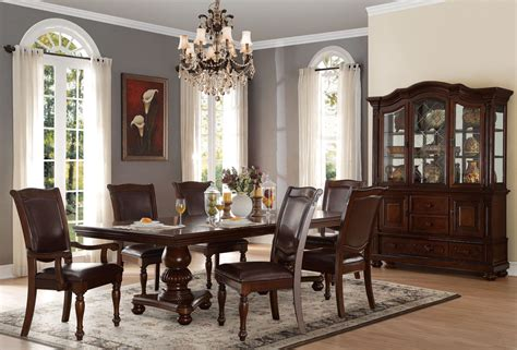 brown dining room set lordsburg brown dining room set from homelegance coleman