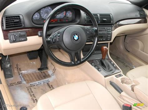 2002 Bmw 325i Interior by 2002 Bmw 3 Series 325i Convertible Beige Dashboard Photo