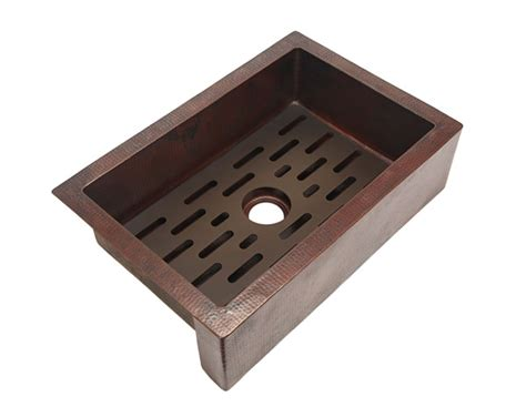 Kitchen Sink Grates Traxx Grate For Copper Kitchen Sink Copper Sinks