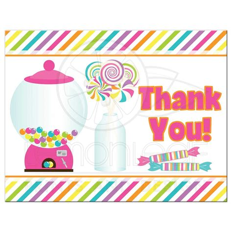 Glass Canisters Kitchen candyland thank you note for bat mitzvah brightly