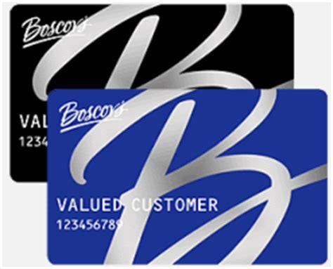 Boscov S Gift Card Balance - www hrsaccount com boscovs boscov s credit card online banking sense