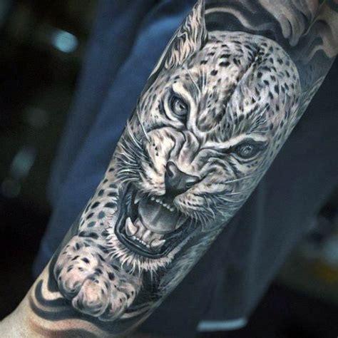 leopard tattoo images designs 50 snow leopard tattoo designs for men animal ink ideas