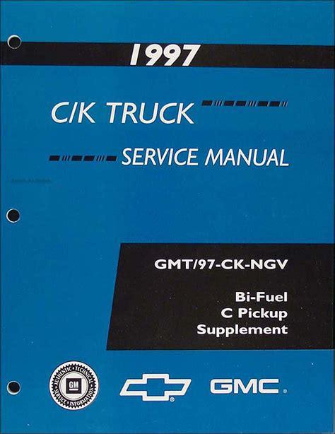 1997 1998 gm ck bi fuel pickup repair shop manual original supplement 1997 c k truck repair shop manual original set pickup suburban tahoe yukon