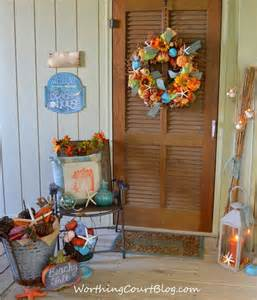 Easter Wreath by Fall Decorating Ideas From Nancy S Worthing Court