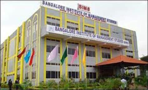 Bangalore Institute Of Management Studies Fee Structure For Mba by Bangalore Institute Of Management Studies Bangalore