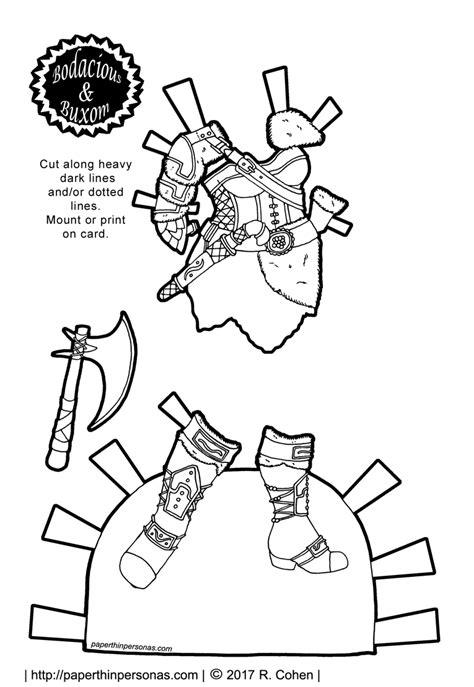 printable viking paper dolls viking warrior coloring coloring pages