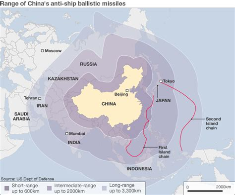 china increases its missile forces while opposing u s how china is advancing its military reach bbc news