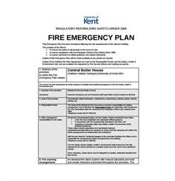 Emergency Plan Template For Businesses by 13 Emergency Plan Templates Free Sle Exle