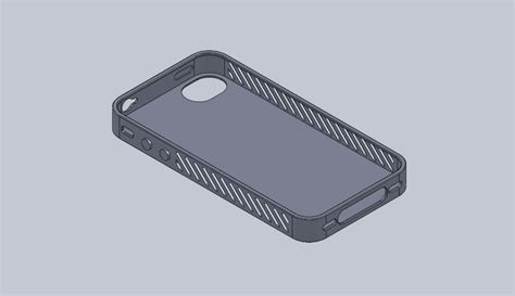 solidworks tutorial iphone 5 12 2011 iphone case stl solidworks 3d cad model