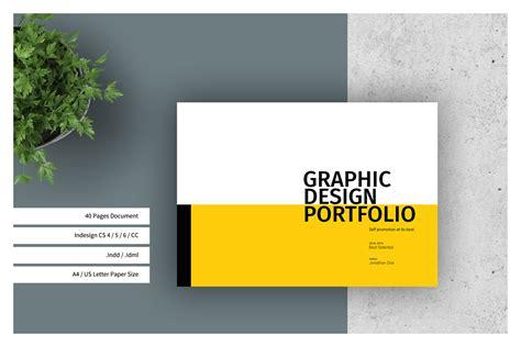 Graphic Design Portfolio Template Best Design Portfolio Templates